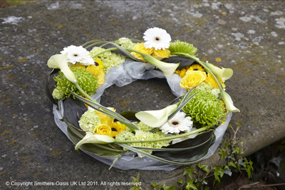 Funeral, wreath, flowers, gravesend, florist, delivery
