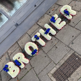 Brother, big BRUV, funeral tribute, funeral flowers, gravesend, florist