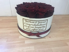 Preserved, forever, 1 year, rose, roses, bloom room, hatbox, birthday, anniversary, proposal, valentines, special, flowers, florist, Gravesend, delivery, kent