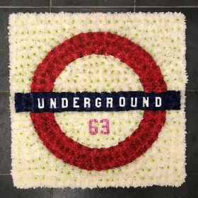 London, Underground, funeral, wreath, tribute, flowers, florist, Gravesend, delivery