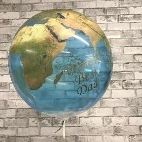 World bubble balloon