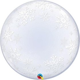 Snowflake bubble balloon