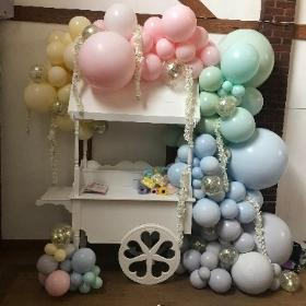 Organic, balloon, garland, party, wedding, event, gravesend, northfleet, kent