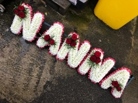 NANNA, tribute, Sikh, Hindi, Hindu, Funeral, sympathy, wreath, tribute, flowers, florist, gravesend, Northfleet, Kent, london
